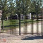 Custom wrought iron fencing