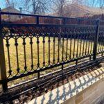 Wrought Iron Fence Installation